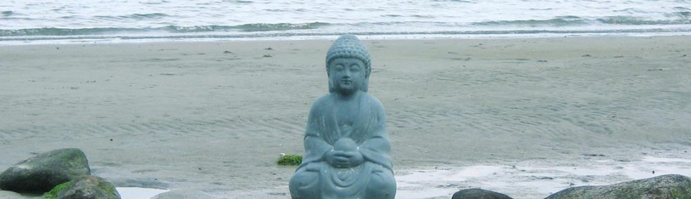 Buddha am Strand