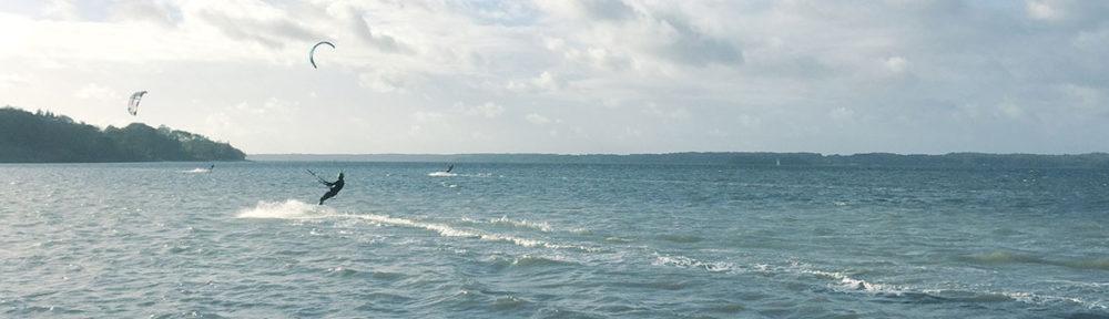 surfen am Strand von Solituede